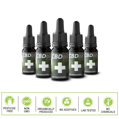 Dutch Natural Healing 5 Bottle pack.