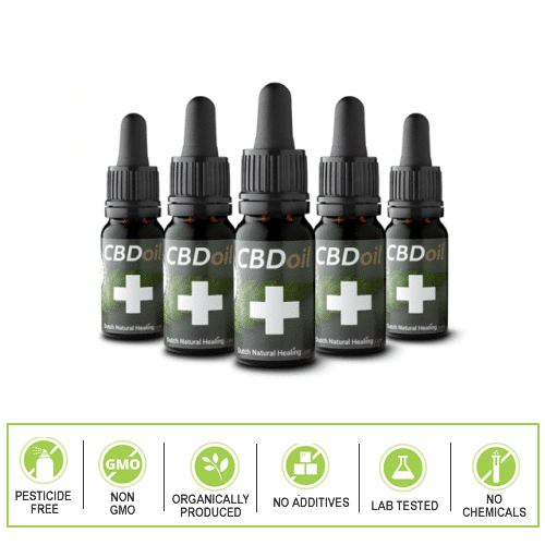 Dutch Natural Healing 5 Bottle pack.