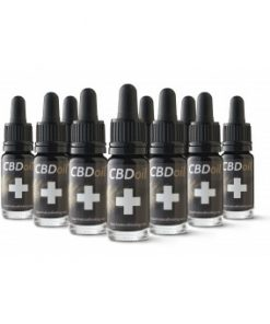 10 bottle saving CBD