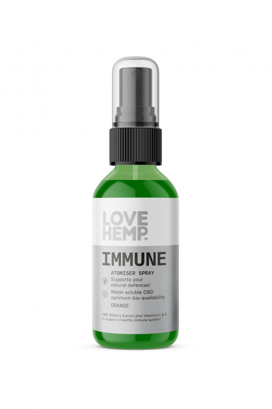 CBD Immune Oral Spray.