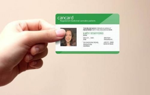 Cancard UK medical Cannabis Card.