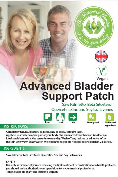 Advanced Bladder Support Patch.