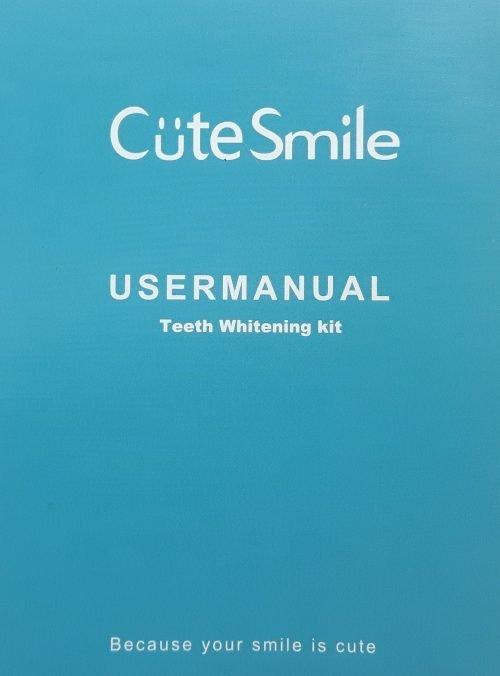 Teeth Whitening User Manual.