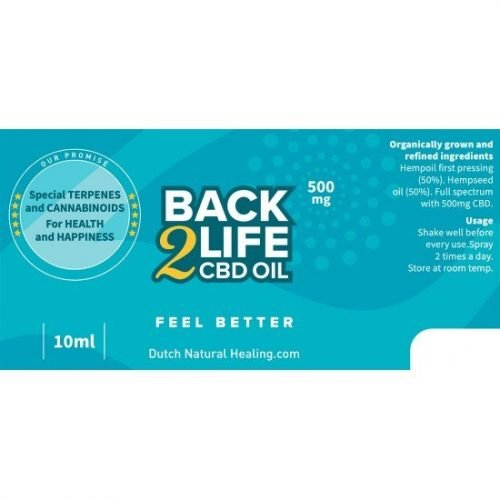Back2Life CBD Oil.